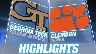 Georgia Tech vs Clemson | 2014-15 ACC Men