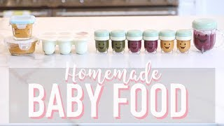 How I Make My Own Baby Food   Stage 1 Purees