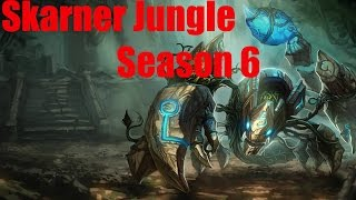 Hybrid Skarner jungle Season 6 carry?