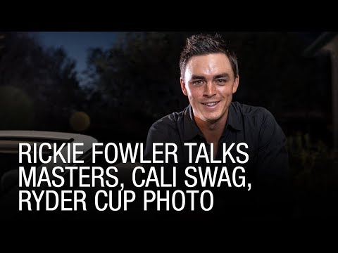 Rickie Fowler Talks Masters, Cali Swag, Ryder Cup Photo