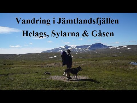 Vandring i Jämtlandsfjällen,