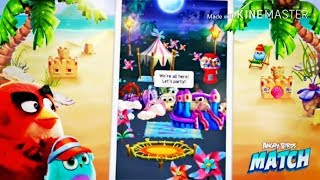 Angry birds MATCH - for Android and iOS gameplay