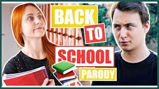 Youtubeři a BACK TO SCHOOL | Natyla & Lukefry