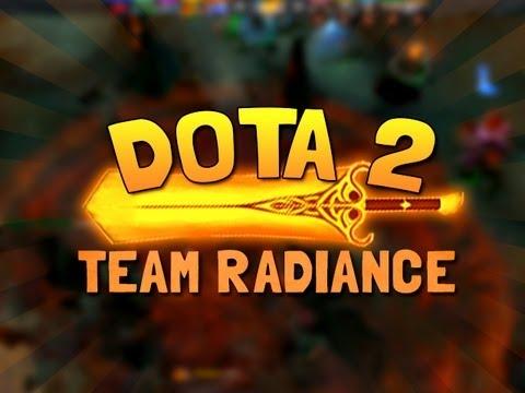 TEAM RADIANCE! ( Funny Dota 2 Gameplay)