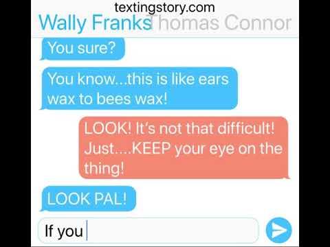 """Wally Franks & Thomas Connor text   PT.11  """"small sad talk..."""""""