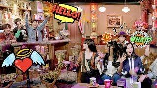 Esto pasa cuando Estrellas K-Pop Sorprenden a Sus Fans   #MTVEMA BTS BLACKPINK TWICE MTV EMA