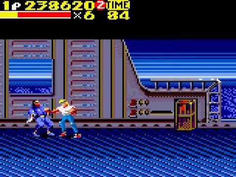 Streets of Rage 2 (Game Gear) - Axel, Hard (1 Life, No Continues ...