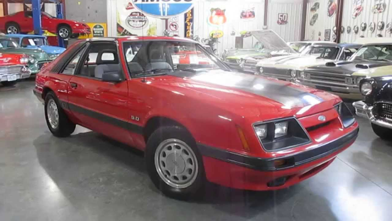 Sold1985 mustang gt true survivor 5 0 5 speed t tops for sale passing lane motors youtube