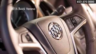 New 2016 Buick Verano Technology Classic Buick GMC Arlington TX Fort Worth TX