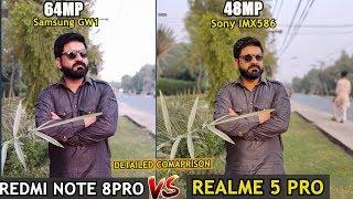 REDMI NOTE 8 Pro Vs REALME 5 Pro Camera Comparison in Detail | DAY & NIGHT (URDU /HINDI)