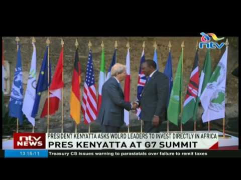 President Kenyatta asks world leaders to invest directly in Africa