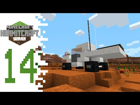 Hermitcraft (Minecraft) - EP14 - Moon/Mars/Space Buggy Thing