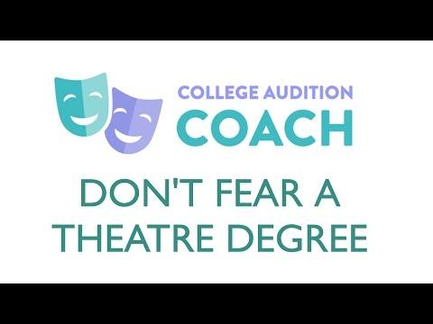 Parents, Don't Fear a Theatre Degree