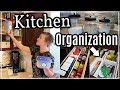 KITCHEN ORGANIZATION IDEAS | CLEAN & DECLUTTER WITH ME | DOLLAR TREE KITCHEN ORGANIZATION
