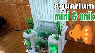 Gambar cover AQUARIUM mini & unik mini & unique aquarium