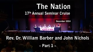 Rev. Dr. William J. Barber and John Nichols (p1) - The Nation 17th Annual Seminar Cruise
