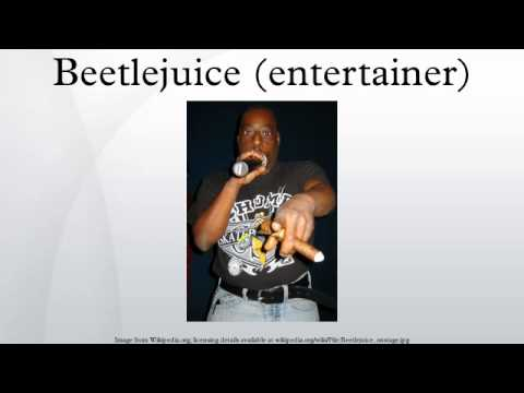 Beetlejuice Entertainer  Beetlejuice Ent...