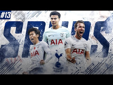 FIFA 18 Tottenham Career Mode - EP13 - 1st vs 2nd!! Premier League Winners Already?!