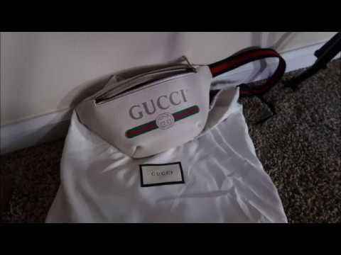 9c6130407528 Gucci Belt bag unboxing ! |Gucci waist bag | - YouTube