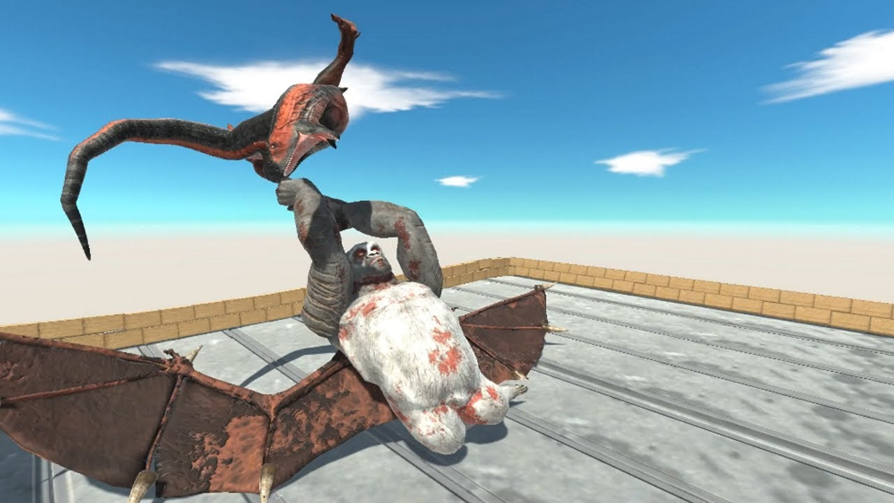 GORO THE GIANT with Wings Animal Revolt Battle Simulator