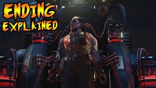 Blood of the Dead ENDING CUTSCENE Explained! RICHTOFEN DIES! Black Ops 4 Zombies Storyline EasterEgg
