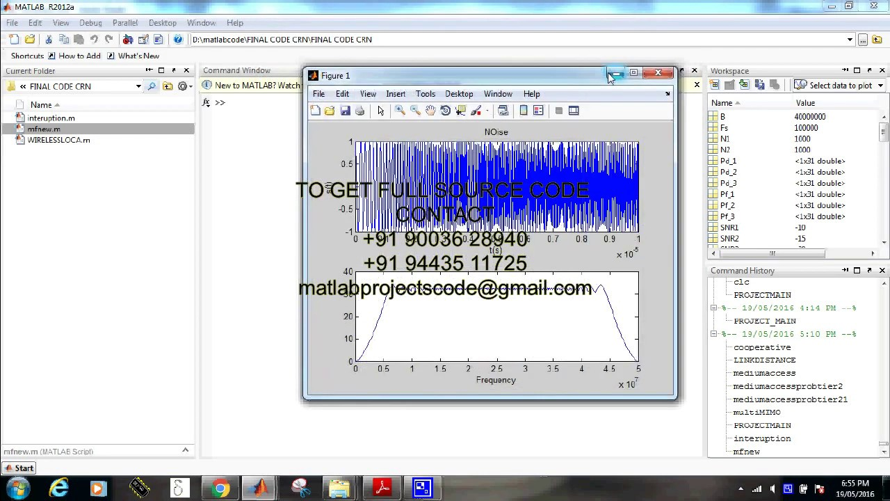 Intelligent wireless communication system matlab projects code