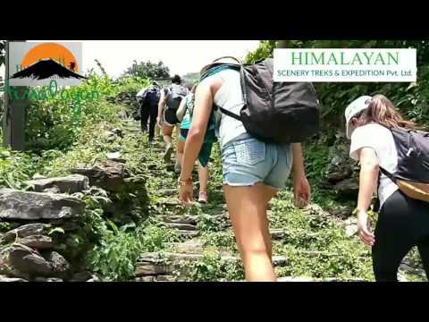 One Week Holiday in Nepal/Kathmandu/Pokhera/Dhampus/Chitwon Tour & Treks