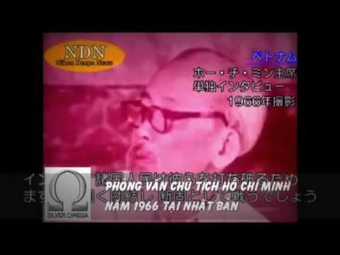 Ho Chi Minh interview in 1966 - Japan