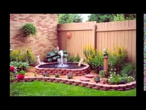 Garden corner ideas youtube for Backyard corner ideas