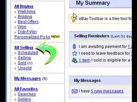 eBay Tutorial How to Send an Invoice Once an Auction Ends - YouTube - How Do I Make An Invoice