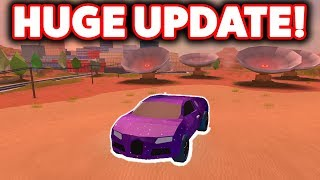 THE BIGGEST NEW UPDATE IN ROBLOX JAILBREAK HISTORY!