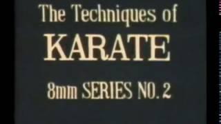 Редкий учебный японский фильм по Шотокан каратэ до ч 1