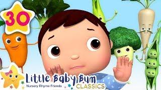 Yummy Vegetables | +More Kids Songs | Nursery Rhymes | Little Baby Bum