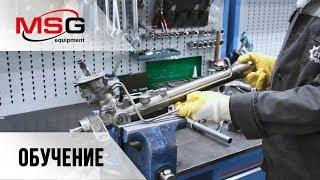 видео Рулевая рейка Шкода Фабия  (в сборе) | Бу оригинал, купить в Москве