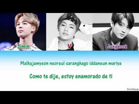 BTS (V,Jimin, Jungkook) – As I Told You (Cover) [Sub Español|Rom]