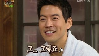 lee bo young and lee sang yoon having arguments on happy together ep275