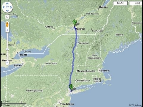 Montreal to NYC on a bicycle