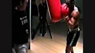 Iron Mike Tyson heavy bag