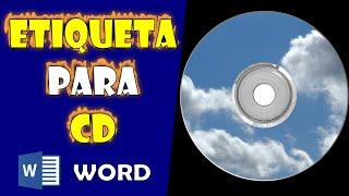 Etiqueta para CD e DVD no Word 2013
