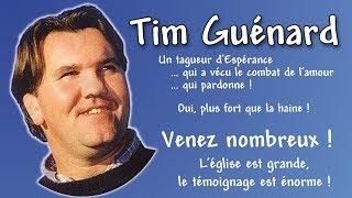Témoignage de Tim Guénard à la paroisse ND de Stockel