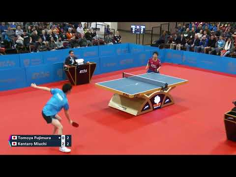 2019 Seamaster US Open TT Championships - Men's Singles Final - K. Miuchi Vs T. Fujimura Highlights