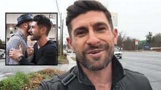 Surprising Alpha M. Fan At Work & Let Him Cut My Hair (VLOG)