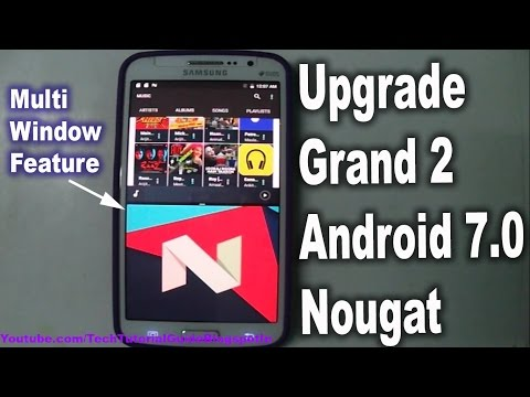 How To Install Android 7.1 Nougat [CM14.1] On Galaxy Grand 2 [Stable] | 2017