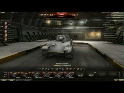 World of Tanks - PzKpfw V Panther Tier 7 Medium Tank - We Need Guns. Lots of Guns.