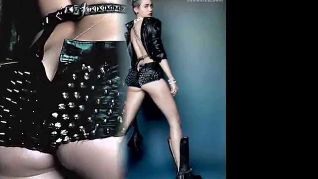 v magazine cyrus Miley