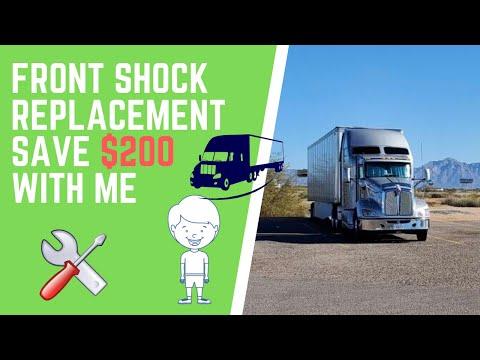 semi truck emergency exhaust repair on
