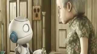 la viejita y el robot