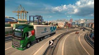 Euro Truck 2 - chilloutowe tripy po Europie ;D - Na żywo