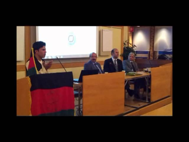Afghan Cultural Committee in Sweden - M.Tariq Bazger Part 1