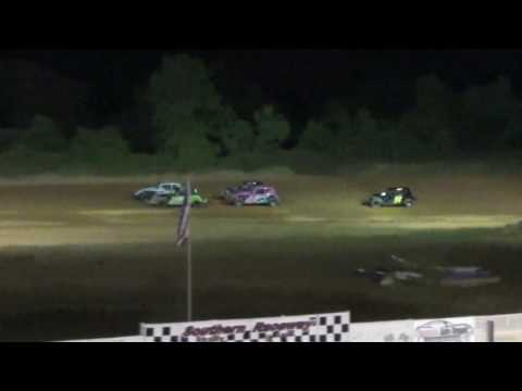 Southern Vintage Racing Association Heat Races 8/20/16 at Southern Raceway